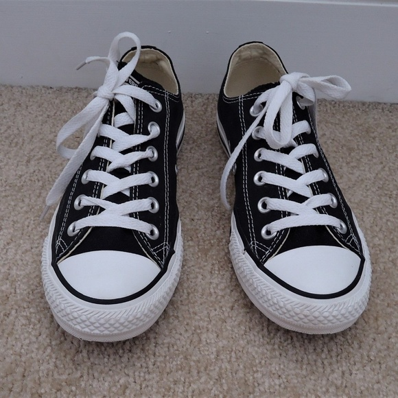 1bed564438c3 Converse Shoes - CONVERSE Black Ox Low Sneaker W 8 - M 6